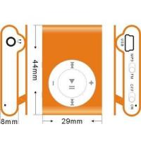 Buy cheap MP4/MP3/MP5 player HMP306 orange from wholesalers