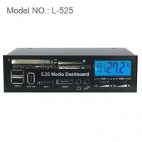Buy cheap 5.25 LCD Media Dashboard Card Reader Front Panel from wholesalers