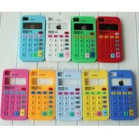 Buy cheap silicone calculator case for iphone 4g,soft case from wholesalers