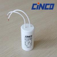 Buy cheap 8uF 450V | 250VAC Motor Run Capacitor Plasitc can Wire leading Quickly connect from wholesalers