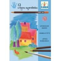 Buy cheap Arts & Crafts Djeco Watercolor Pencils - Classic Colours from wholesalers