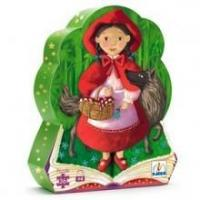 Buy cheap Toys, Puzzles, Games & More Djeco Little Red Riding Hood Floor Puzzle - 36 pieces from wholesalers