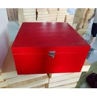 Buy cheap Wooden Packaging Box Christmas Keepsake Box with Si from wholesalers