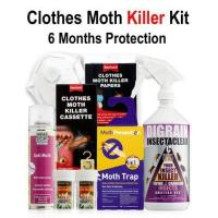 Clothes Moth Killer Kit - 6 Months' Protection