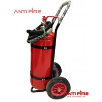 Buy cheap The Firefighter Protective Equipment Wheeled Dry Powder Fire Extinguisher from wholesalers