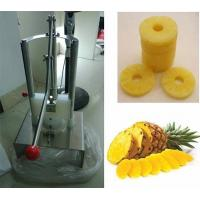 Buy cheap Hand type 120-150 pieces per hour pineapple corer peeler from wholesalers
