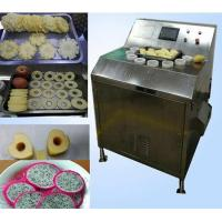 Buy cheap Commercial stainless steel electric apple dragon fruit pineapple slicer from wholesalers