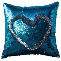Buy cheap Decorative pillows home textile mermaid DIY love reversible sequin pillow from wholesalers