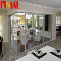 Buy cheap Aluminum sliding stacker doors from wholesalers