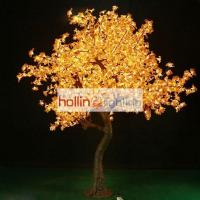 LED simulation tree light with classic maple leaves HL-MT022