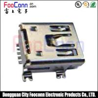 Buy cheap MINI USB Connector 5Pin Female SMT Type from wholesalers