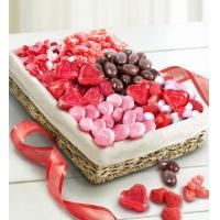 Buy cheap Holidays Valentine Sweets Assortment Basket from wholesalers