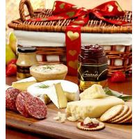 Buy cheap Holidays Valentine Meat & Cheese Gift Basket from wholesalers