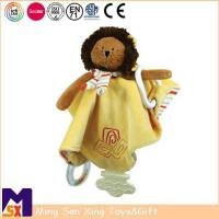 Buy cheap Baby Comforter Baby Plush Lion Teething Blankie from wholesalers