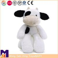 China Stuffed Animal Plush Toys Soft Stuffed Cow Plush Toy on sale