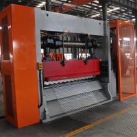 Lath expanded mesh machine