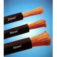 Wholesale Copper Wire Rubber Insulated black natureal rubber flexible welding cable from china suppliers