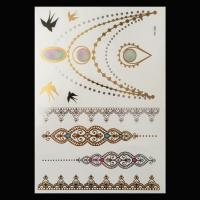 Wholesale Metallic tattoo sticker from china suppliers