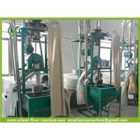 milling by millstone automatic wheat flour machine popular in Africa