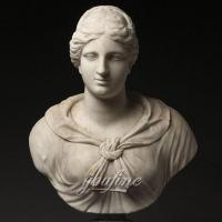Buy cheap Famous art sculptures Italian Grand Tour Marble Bust of Diana or Artemis for indoor decor from wholesalers