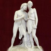 Buy cheap Famous sculptures greek statue couple of Daphne and Chloe for sale from wholesalers