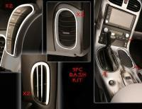 Wholesale Dash Trim Kit-Interior-Polished or Brushed-Stainless Steel-9 Pieces-05-13 from china suppliers