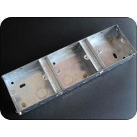 Buy cheap Metal Electrical Box 3 Gang 35mm Metal Electrical Back Box With Brass Terminal from wholesalers