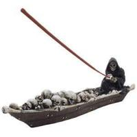 Buy cheap n-Gifts Scary Grim Reaper in Fishing Boat of Skeletons Halloween Decorations from wholesalers