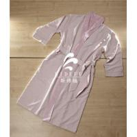 Buy cheap Luxury Hotel Unisex Men Women Double Layer Coral Fleece Lined Microfiber Bathrobe Wholesale from wholesalers