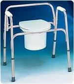 Buy cheap Bariatric Commodes Extra-Wide Bedside Steel Commode from wholesalers