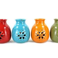 Buy cheap Leisure Bags Ceramic candle holders manufacturers from wholesalers