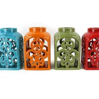 Buy cheap Leisure Bags Ceramic lighthouse candle holder from wholesalers