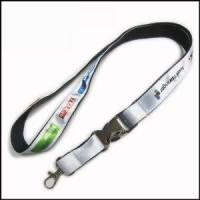 Buy cheap Heat-transferred Satin Lanyard for Adverting Gift product
