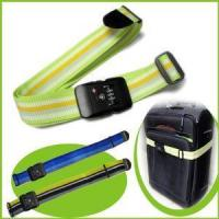 Wholesale Nylon Durable Rainbow Luggage Strap with Combination Lock from china suppliers