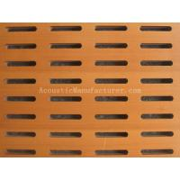 Buy cheap Wooden Pattern Acoustic Panels 1200x600x15 from wholesalers