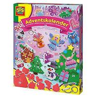 SES Advent Calendar Iron on Bead Craft (Multi-Colour) from SES