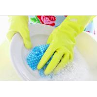 Wholesale Kitchen Cleaning Household Rubber Gloves 100% Naural Latex Small, Medium, Large Size from china suppliers