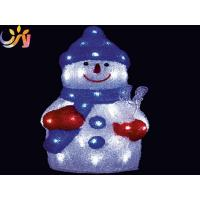 Wholesale LED Acrylic Animal Lighted Acrylic Snowman from china suppliers