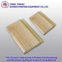 Wholesale 007821:Water-based 65 Dero Flat Head Widen Screen Print Squeegee from china suppliers