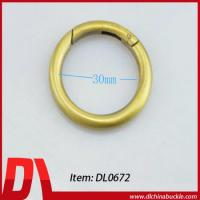 Buy cheap Brass Color Metal Key Ring Binder from wholesalers