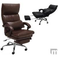 Buy cheap Pillow Top Leather Office Recliner w/Footrest from wholesalers