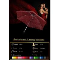 Buy cheap the smallest size travel 5 folding umbrella wind resistent from wholesalers