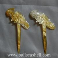Buy cheap Silver pendants shell shell art hair clip crafts from wholesalers
