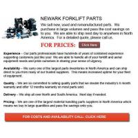 New Jersey Newark Forklift Parts