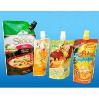 Buy cheap Laminated material bag Stand up pouch with spout from wholesalers