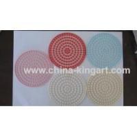 Wholesale pvc coaster pvc mug pad pvc cup coaster from china suppliers