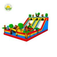 Buy cheap Hot sale inflatable pirate ship, inflatable castle slide, inflatable combo slide from wholesalers