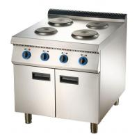 Buy cheap Electric Range Hot Plate Cooker with Cabinet or Oven Commercial Kitchen Equipment from wholesalers