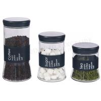 Wholesale GLASS STORAGE JAR SET 17TM/020 from china suppliers