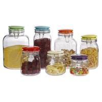 Wholesale GLASS STORAGE JAR SET 17TM/048 from china suppliers